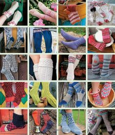 "Photo from album ""Socks"" on Yandex. Knitting Books, Knitting Videos, Book Crafts, Craft Books, Used Iphone, Knit Crochet, Crotchet, Needlework, Free Pattern"