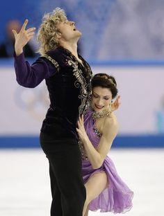 Meryl Davis e Charlie White patinação ouro Sochi (Foto: AP)