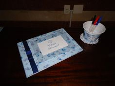 Caderno de mensagens e recordação