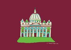 St Peter's Basilica :  Dimitra Tzanos