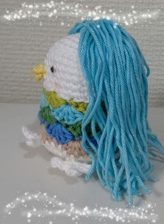 Mermaid, Crochet Hats, Japanese, Accessories, Style, Baby Dolls, Amigurumi, Knitting Hats, Swag