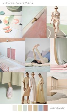 PASTEL NEUTRALS by Pattern Curator (SS20)