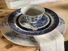 Mix and match Silver Tea Set, The Knack, Willow Pattern, Nautical Design, Blue China, Delft, One Design, Mix N Match, Two By Two