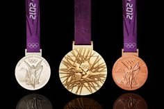 Range of Olympic Medals