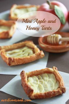 Mini Apple and Honey Tarts