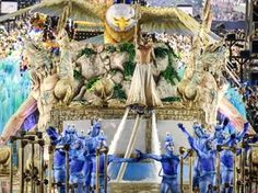 'Emoção indescritível', diz destaque do abre-alas da Portela - Carnaval RJ 2016