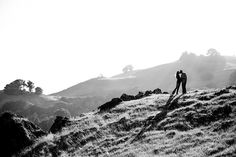 Mike and Rachel's Mt. Tam hiking engagement session | The Goodness