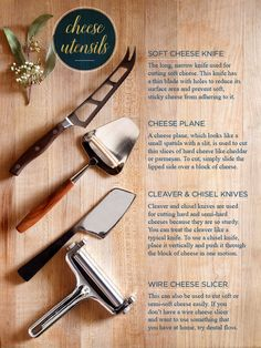 cheese utensils