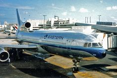 Eastern Air Lines, [Lockheed] [TriStar, Rolls Royce Engines, Vintage Airline, Air Lines, Commercial Aircraft, Civil Aviation, Planes, Vacations, Pilot, Jet