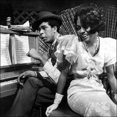 "Diana Ross (playing jazz icon Billie Holiday) and Richard Pryor along with Billie Dee Williams in the 1972 hit movie ""Lady Sings The Blues"". Diana Ross was nominated for an Oscar for her role which she should have won!"