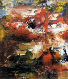 Marcelle FERRON - Sans titre (1954). Follow the biggest painting board on Pinterest: www.pinterest.com/atelierbeauvoir