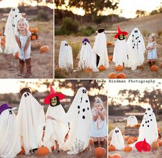 It's the Great Pumpkin Charlie Brown Inspired Photo Shoot