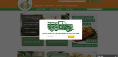 Mile High Organics | newsletter | email form | email | email marketing | lead generation | email pop up | signup form | e-mail