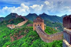 Великая китайская стена. Китай.
