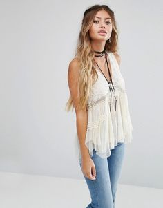 Free People On The Town Tank » bohemian life » boho home design + decor » nontraditional living » elements of bohemia » #boho #ad