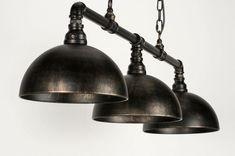 Pendant lamp classic industrial look rust brown bronze metal … – Lighting Ideas Bar Design Awards, Bronze, Pendant Lamp, Pendant Lighting, Industrial Chandelier, Industrial Living, Chandeliers, Deco Led, Led Filament
