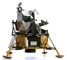 The Great Canadian Model Builders Web Page!: Grumman LM (Lunar Module)