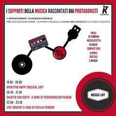 Siamo molto felici di annunciare la partecipazione di Semm al format: Musical LOFT presso Kinodromo a Bologna. 4 appuntamenti da febbraio a maggio 2017 per un viaggio tra i supporti musicali raccontati da coloro che lavorano, producono, creano nel mondo musicale e indagare come hanno influenzato cultura e società. Musical LOFT è una rassegna a …