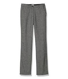 #LLBean: Weekend Pants, Hidden Comfort Waist Herringbone