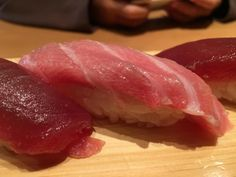 #yummy #salmon #sushi from Tsukiji Tamasushi in #tokyo #japan - #imenehunes #food #yum #delicious #salmonsushi #sushilover #TsukijiTamasushi