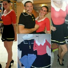 Popeye And Olive Oyl Love This Camille Fun