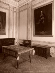 Palacio. Sala del primer piso