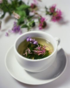 Your herb garden is also your tea garden. You can grow your own teas and create your own unique blends.