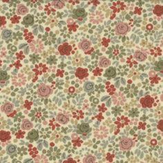 La+Belle+Fleur+13637-16+-+marque:+Moda-+couleur:+blanc+au+beige+-+thème:+Fleurs+et+feuillages-+description:+Tissu+100%+coton+en+110cm+de+largeur+(repères+en+inchs+-+1+inch+=+2,54cm)