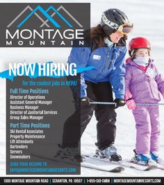 Montage​ is hiring! http://skipa.com/plan-a-trip/media-center-press-room/ski-area-press-releases/671-montage-mountain-is-hiring