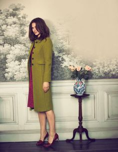 I've spotted this @BodenClothing Soho Coat  Comes in black and burgundy as well. Smaller  plus sizes
