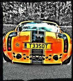 TVR T350 at Sharnbrook car show 2013