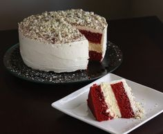 Red Velvet cheesecake