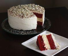 Lincoln's Red Velvet (Cheesecake) Cake