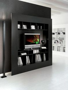 contemporary TV wall unit - WINDOW by Giorgio Cattelan - ArchiExpo