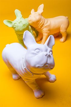 French Bulldog Mannequin: Assorted Colors