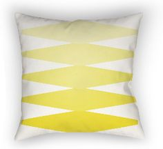 20 Moderne Pillow in Blazing Yellow