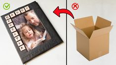Fathers Day Photo, Fathers Day Crafts, Photo Frame Decoration, Make Photo, The Creator, Gift Ideas, How To Make, Gifts, Presents