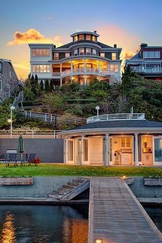 gorgeous waterfront home