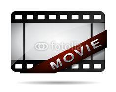 Vektor: movie button