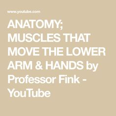 This is Part 3 of 5 Video Lectures on the Skeletal Muscle Groups of the Human Body by Professor Fink. In this Video Lecture, Professor Fink first describes t. Skeletal Muscle, Pharmacology, Muscle Groups, Physiology, Biceps, Lowes, Professor, Muscles, Anatomy
