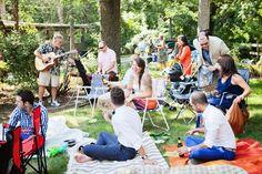 casual picnic style eco-friendly wedding http://thingsfestive.blogspot.com/2012/09/eco-chic-wedding-in-grand-beach-mi.html