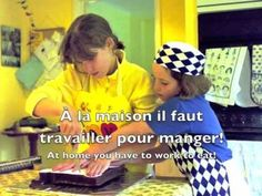 French for Kids: Going to a café etc. French oral & listening practice - Each sentence repeated twice. Ap French, Core French, French Cafe, French Films, French Food, Language Study, Language Lessons, French Language, French Teacher