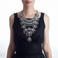 Statement :: Coliere Statement :: Colier Ayashe - Ayashe Statement Necklace :: See more at www.cassandras.ro Statement Jewelry, Jewelry Accessories, Beauty, Fashion, Beleza, Moda, La Mode, Cosmetology, Fasion