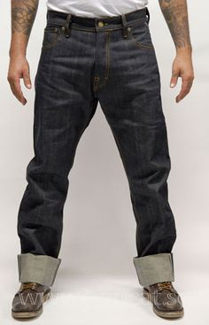 Eat Dust - FIT 67 ''RAW SELVAGE JEANS''