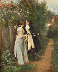 Anonimo, corteggiamento