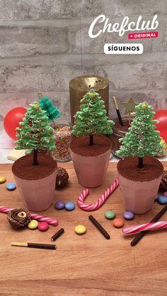 Köstliche Desserts, Delicious Desserts, Dessert Recipes, Yummy Food, Christmas Cooking, Christmas Desserts, Christmas Treats, Giant Food, Creative Food