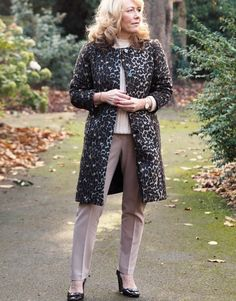 Leopard Print Coat! The Readers Choice