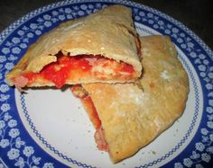 FORNELLI IN FIAMME: SEMI WHOLEMEAL CALZONE PIZZA AT LONG LEAVING OF BU...