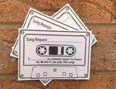 Vale-música para os convidados!