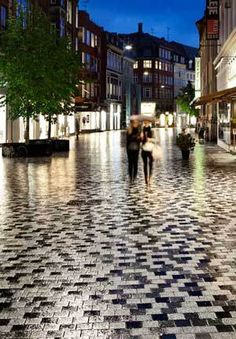 Getting creative with paving patterns to encourage pedestrian activity in #Copenhagen, #Amsterdam and #Barcelona.